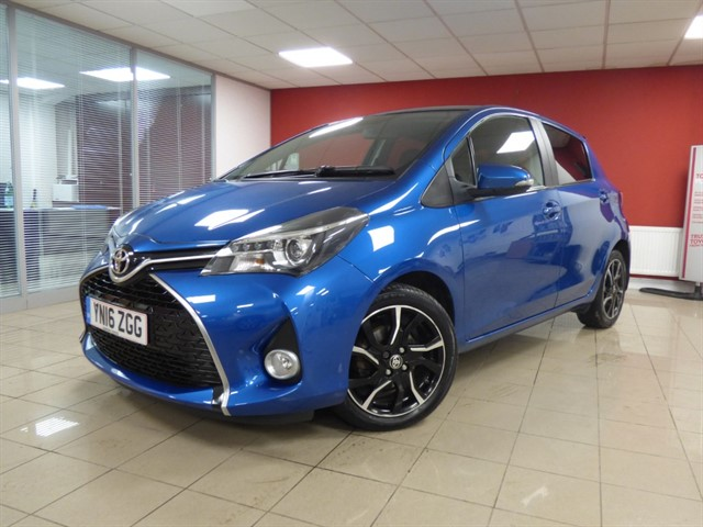 used Toyota Yaris D-4D DESIGN in aberdare
