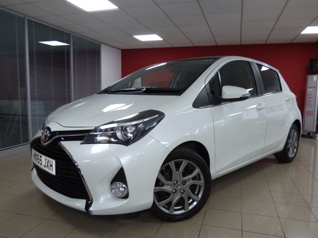 used Toyota Yaris VVT-I EXCEL in aberdare
