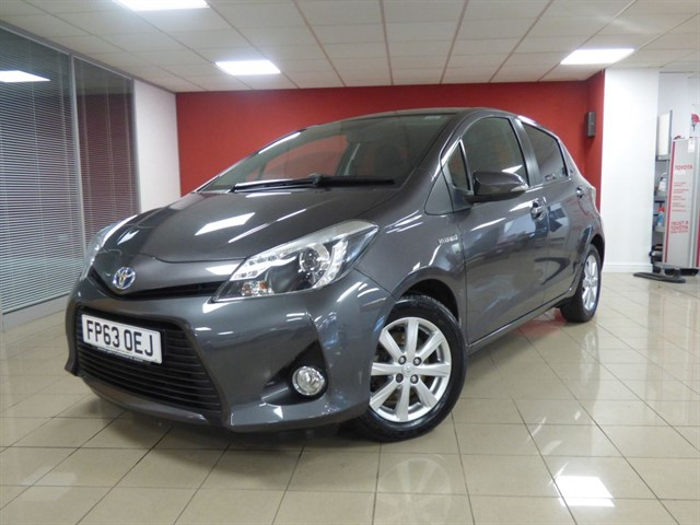 used Toyota Yaris Hybrid Icon Plus Nav in aberdare