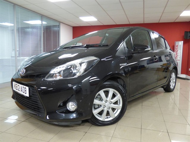 used Toyota Yaris T4 Hybrid Nav in aberdare