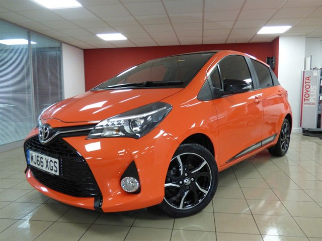 used Toyota Yaris VVT-i Orange Edition in aberdare