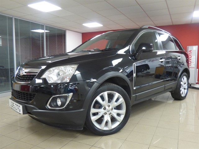 used Vauxhall Antara SE NAV CDTI S/S in aberdare