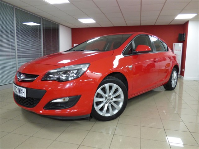 used Vauxhall Astra ACTIVE in aberdare