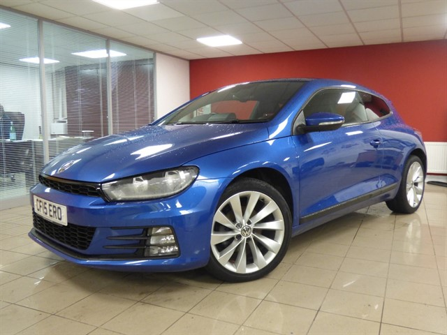 used VW Scirocco GT TDI BLUEMOTION TECHNOLOGY in aberdare