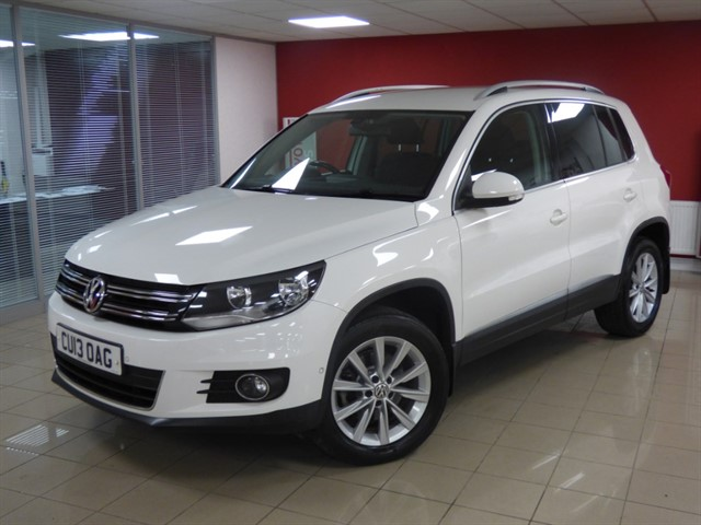 used VW Tiguan SE TDI BLUEMOTION TECHNOLOGY 4MOTION in aberdare
