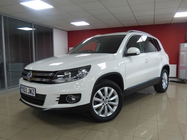 used VW Tiguan MATCH TDI BLUEMOTION TECHNOLOGY 4MOTION in aberdare