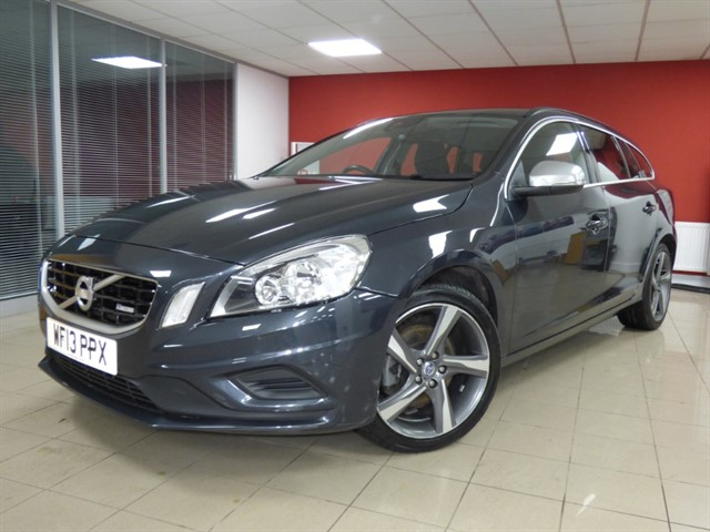 used Volvo V60 D4 R-DESIGN in aberdare