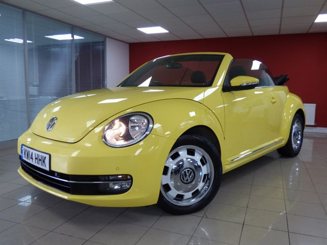 used VW Beetle Design TDi DSG in aberdare