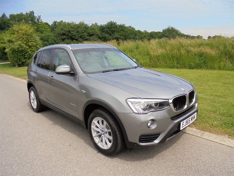 used BMW X3 XDRIVE20D SE 2.0 AUTO in surrey