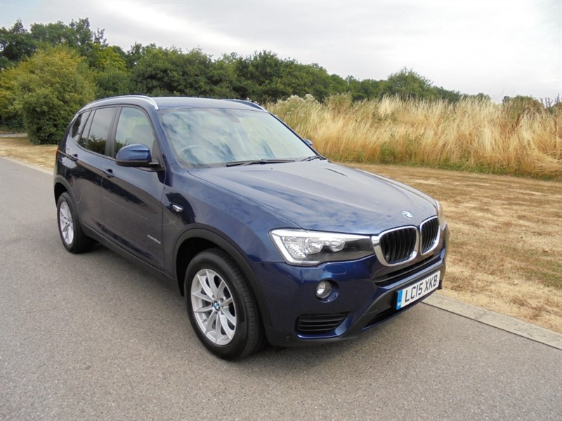 used BMW X3 XDRIVE20D SE AUTO in surrey