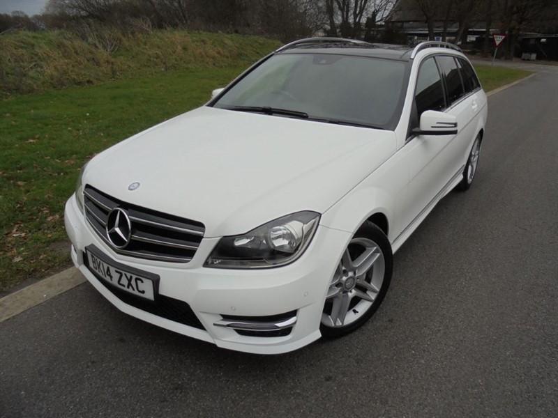 used Mercedes C220 CDI AMG SPORT EDITION PREMIUM PLUS AUTO ESTATE in surrey