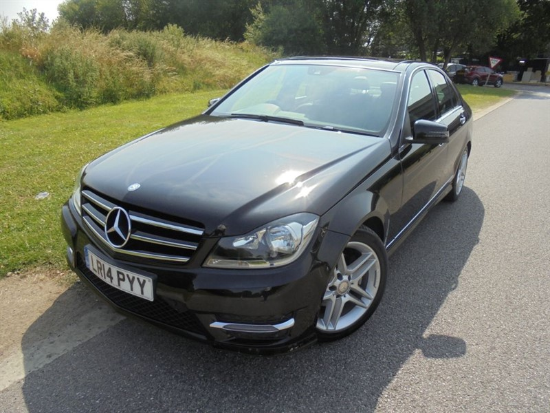 used Mercedes C220 CDI AMG SPORT EDITION PREMIUM PLUS AUTO in surrey