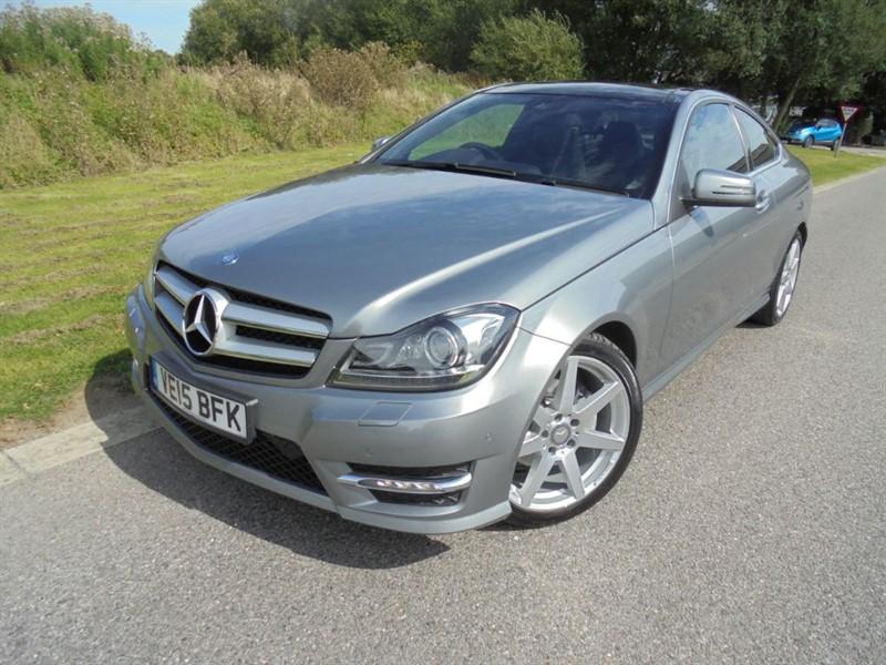 used Mercedes C250 CDI AMG SPORT EDITION PREMIUM PLUS AUTO in surrey