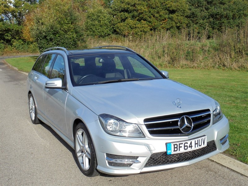 used Mercedes C220 CDI AMG SPORT EDITION PREMIUM PLUS AUTO ESTATE in surrey