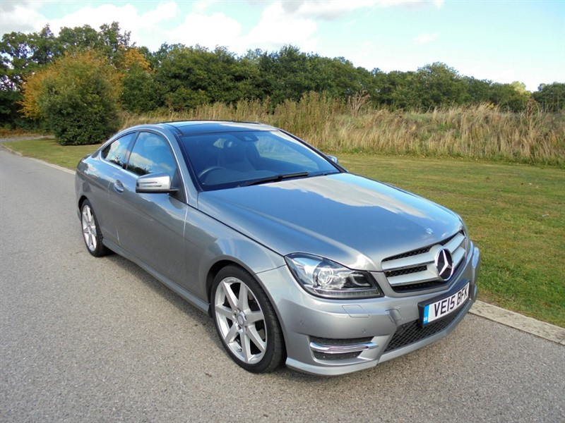 used Mercedes C250 CDI AMG SPORT EDITION PREMIUM PLUS AUTO in surrey