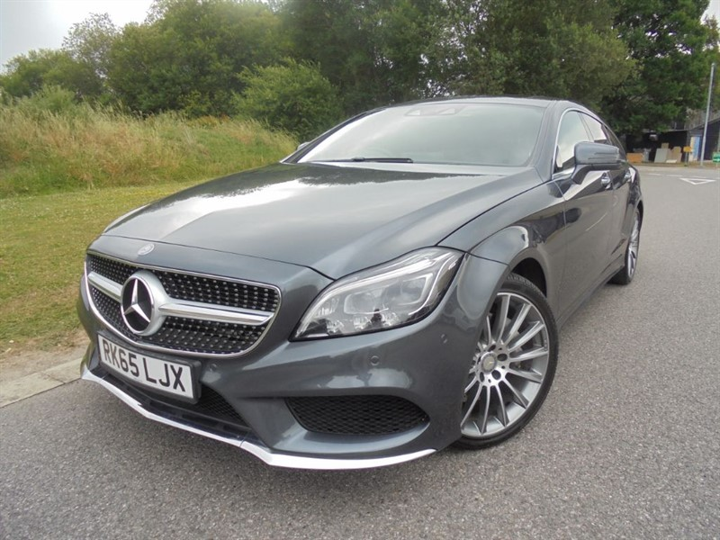 used Mercedes CLS CLS350 D AMG LINE PREMIUM PLUS AUTO ESTATE in surrey