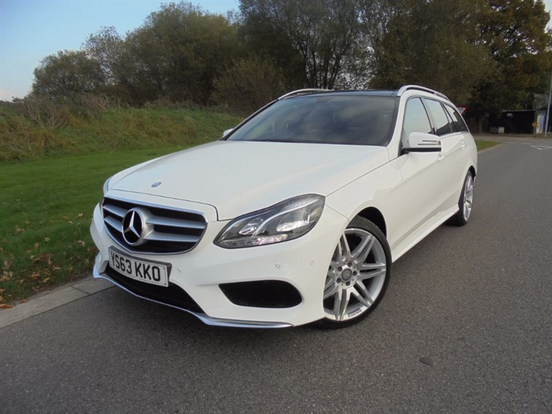 used Mercedes E250 CDI AMG SPORT AUTO ESTATE in surrey