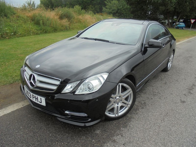 used Mercedes E350 CDI BLUEEFFICIENCY SPORT AUTO in surrey