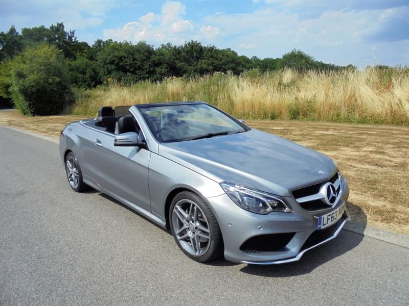 used Mercedes E200 AMG SPORT 2.0 AUTO in surrey