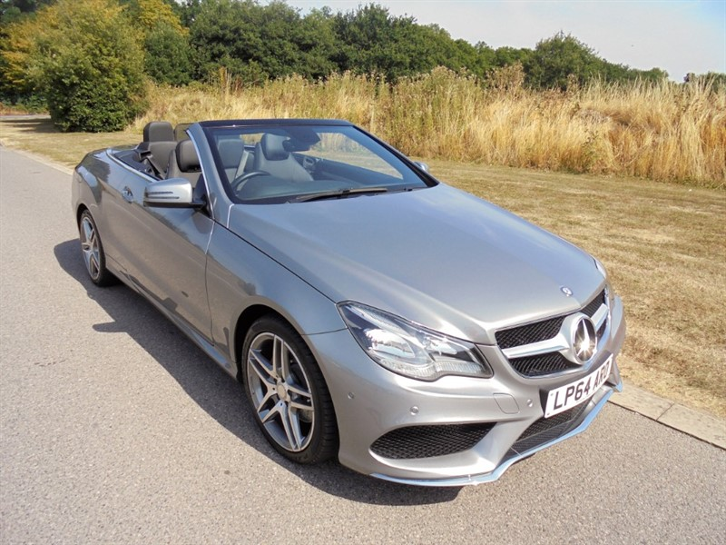 used Mercedes E250 CDI AMG LINE AUTO CABRIOLET in surrey