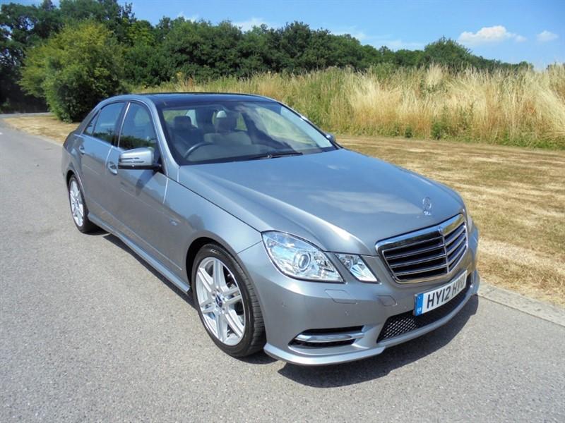 used Mercedes E350 CDI BLUEEFFICIENCY S/S SPORT AUTO SALOON in surrey