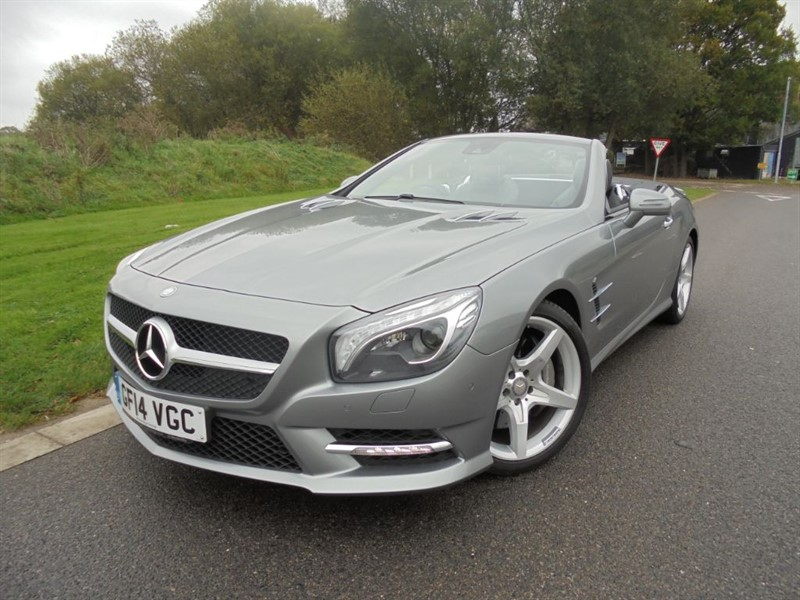 used Mercedes SL SL350 AMG SPORT AUTO in surrey
