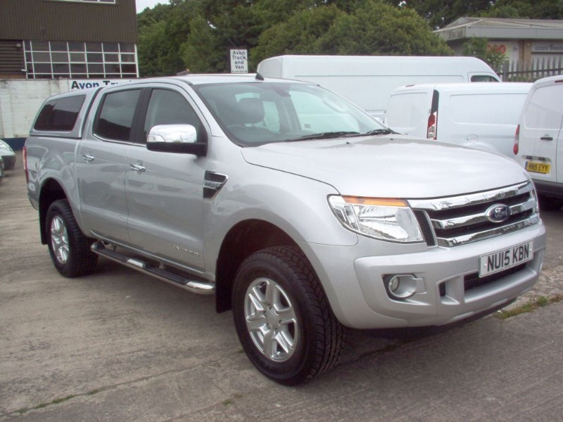 used Ford Ranger LIMITED 4X4 DCB TDCI in bristol