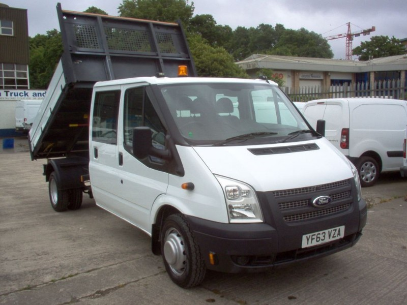 used Ford Transit 350 DRW DOUBLE CAB in bristol