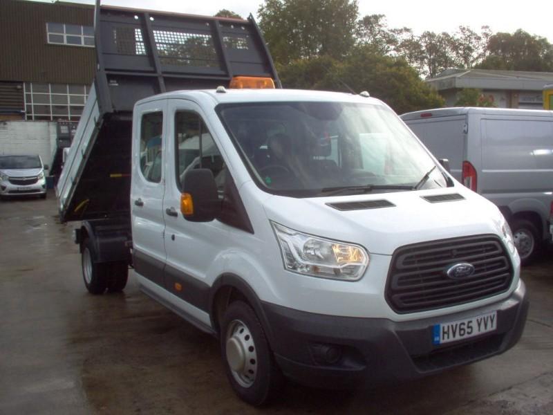 used Ford Transit 350 L3 DCB C/C DRW in bristol
