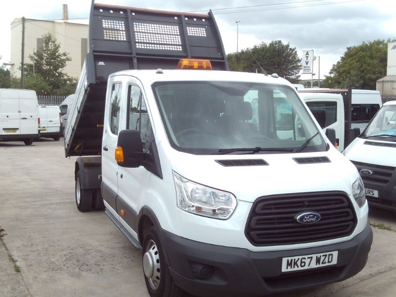 used Ford Transit 350  CREWCAB TIPPER in bristol