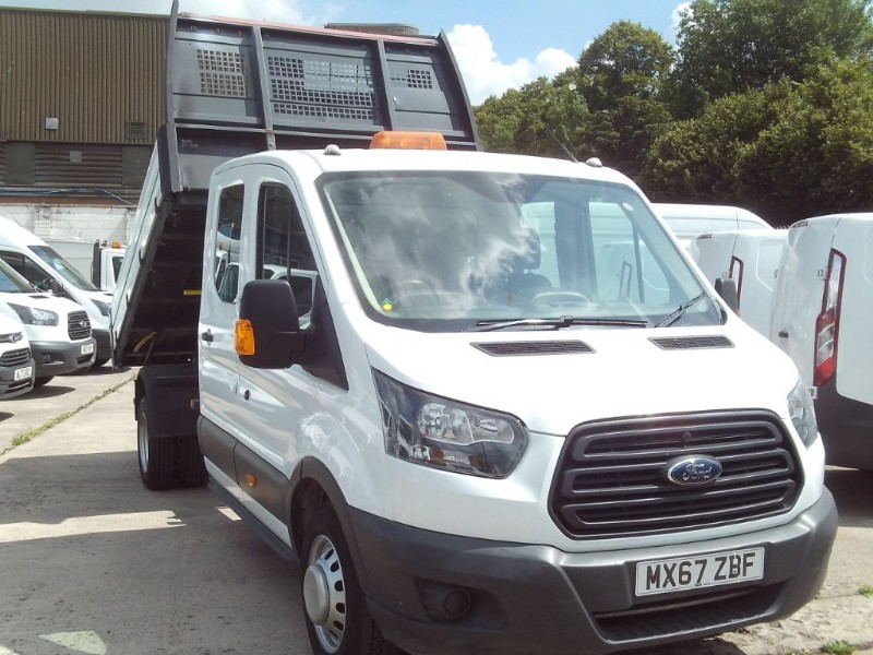 used Ford Transit 350 L3 DOUBLE CAB TIPPER in bristol