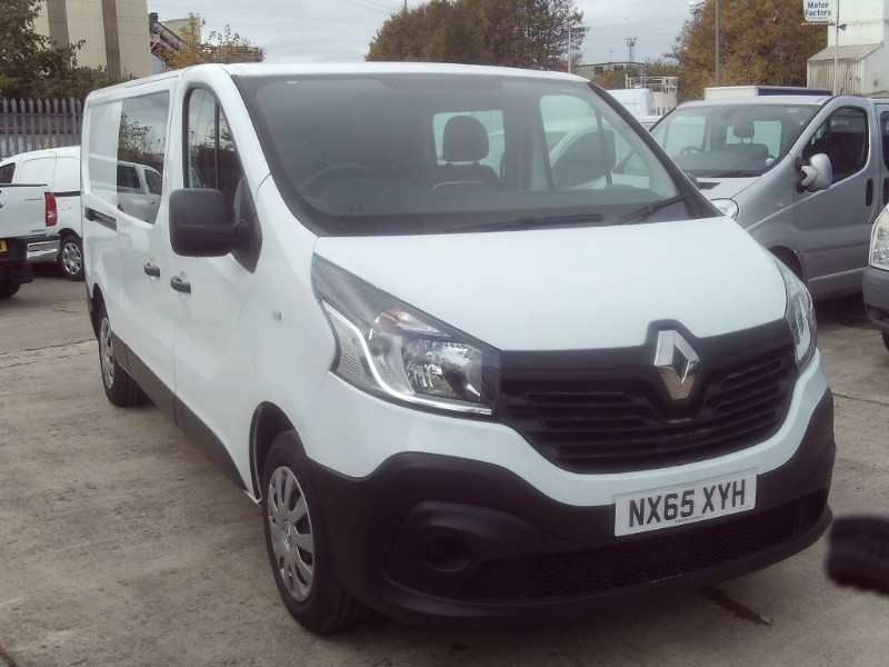 used Renault Trafic LL29 BUSINESS DCI S/R W/V in bristol