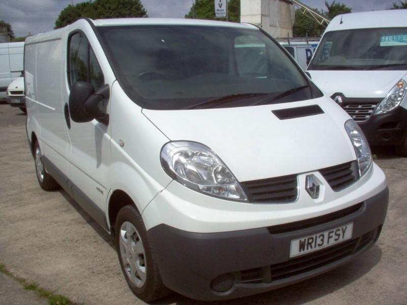 used Renault Trafic SL27 DCI S/R P/V in bristol