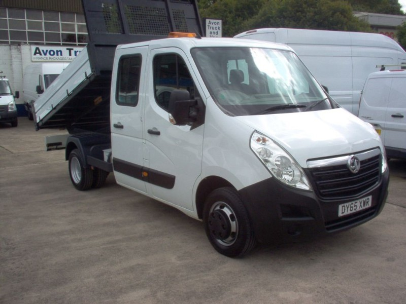 used Vauxhall Movano R3500 L3H1 CDTI CRC TIPPER DRW in bristol
