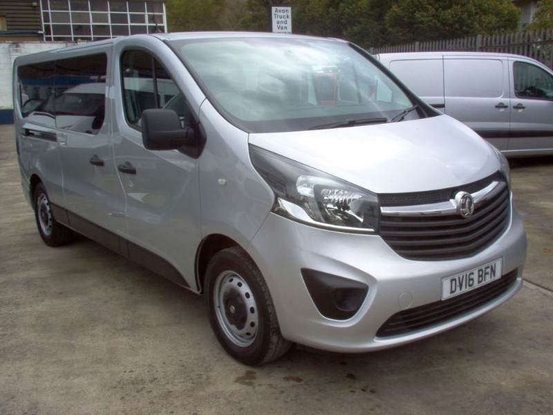 used Vauxhall Vivaro COMBI CDTI 9 SEAT in bristol