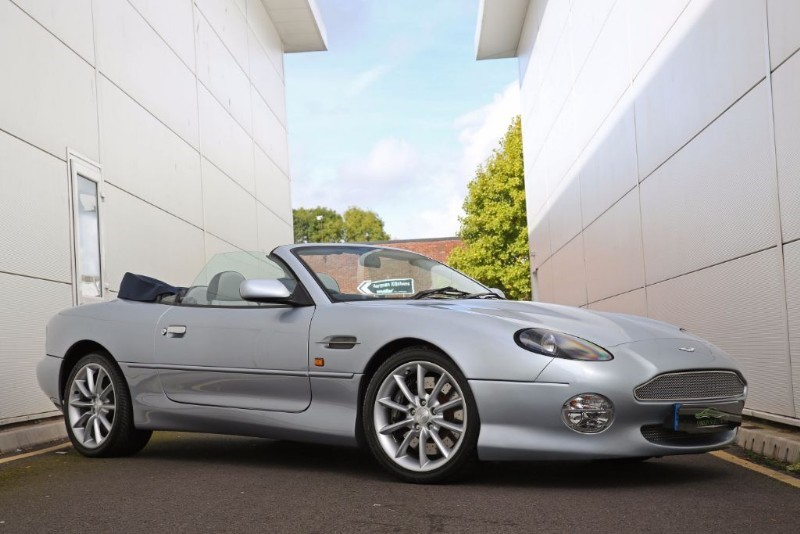 used solent silver aston martin db7 for sale south glamorgan