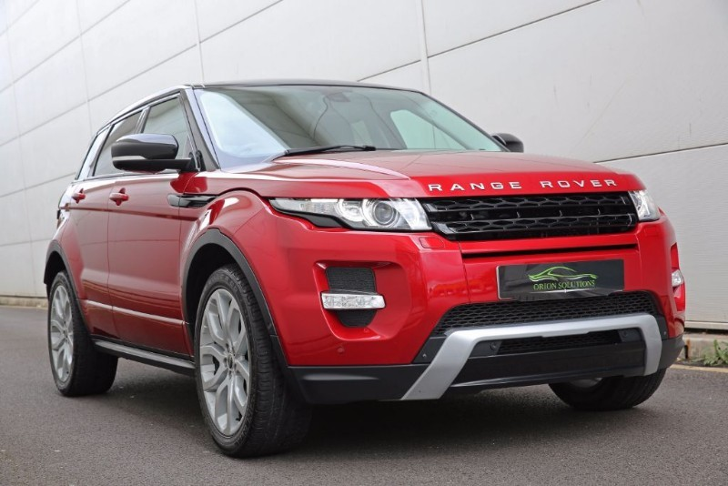 used firenze red land rover range rover evoque for sale. Black Bedroom Furniture Sets. Home Design Ideas