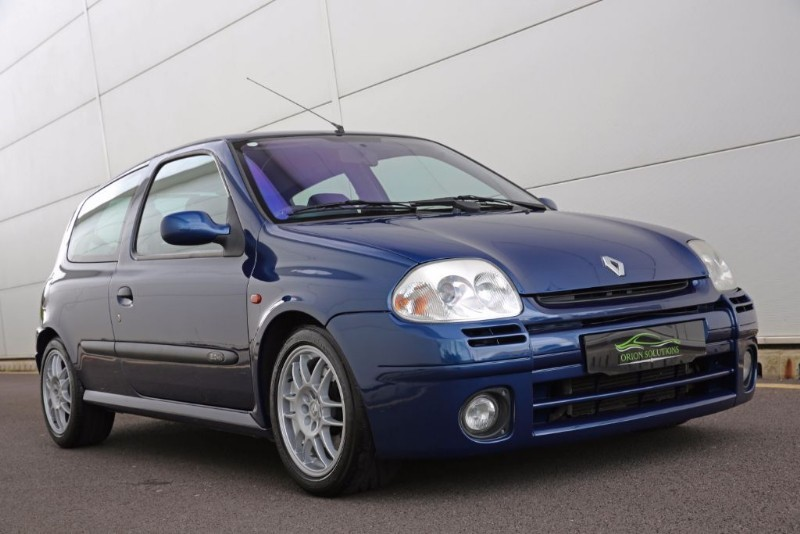 used odyssey blue renault clio for sale south glamorgan. Black Bedroom Furniture Sets. Home Design Ideas