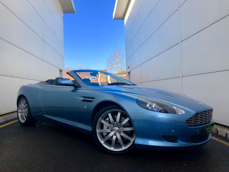 used Aston Martin DB9 V12 VOLANTE (SPECIAL COLOUR ORDER,LOW MILES,FULL ASTON HIST) in cardiff-glamorgan