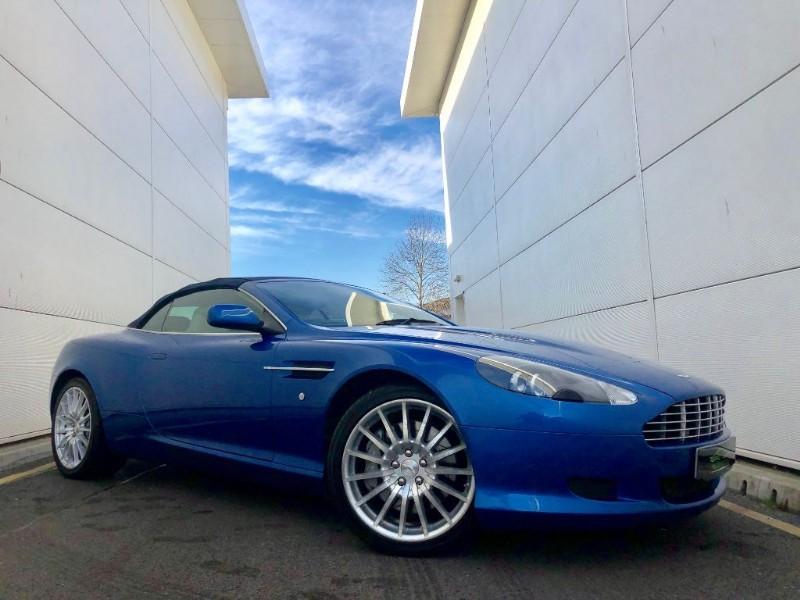 used Aston Martin DB9 V12 VOLANTE (VERTIGO BLUE SPECIAL ORDER, HI SPEC, FULL HISTORY)LOW MILES  in cardiff-glamorgan