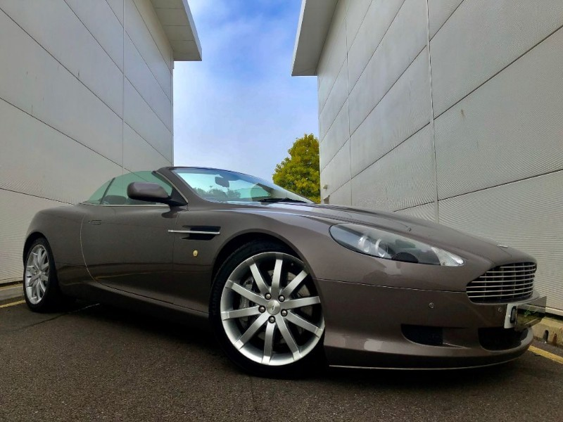used Aston Martin DB9 V12 VOLANTE(SPECIAL ORDER COLOUR,FULL HISTORY) in cardiff-glamorgan