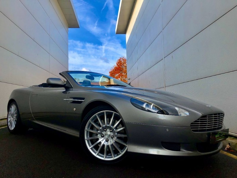 used Aston Martin DB9 V12 VOLANTE (TUNGSTEN MET 2 OWNERS,FULL ASTON HIST) in cardiff-glamorgan