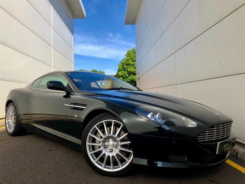 used Aston Martin DB9 V12 in cardiff-glamorgan
