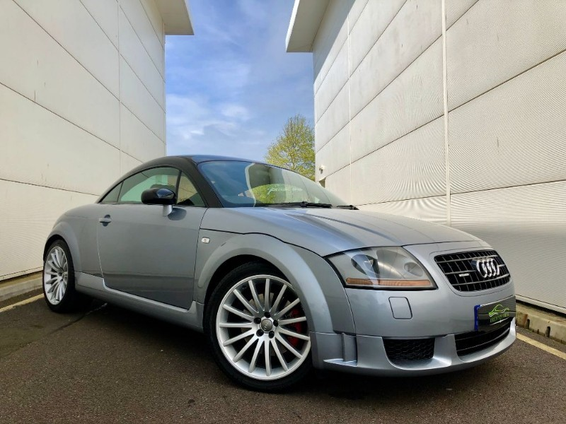 used Audi TT QUATTRO SPORT (LOW LOW MILES,UNMOLSTED COLLECTOR) in cardiff-glamorgan