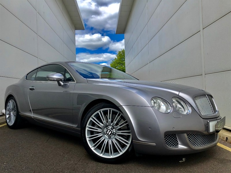 used Bentley Continental GT SPEED 08MY in cardiff-glamorgan