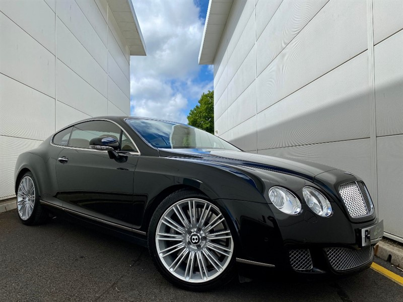 used Bentley Continental GT SPEED in cardiff-glamorgan