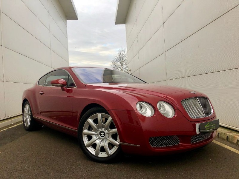 used Bentley Continental GT AMAZING COLOUR COMBINATION, GREAT SPEC, FULL SERV HIST in cardiff-glamorgan