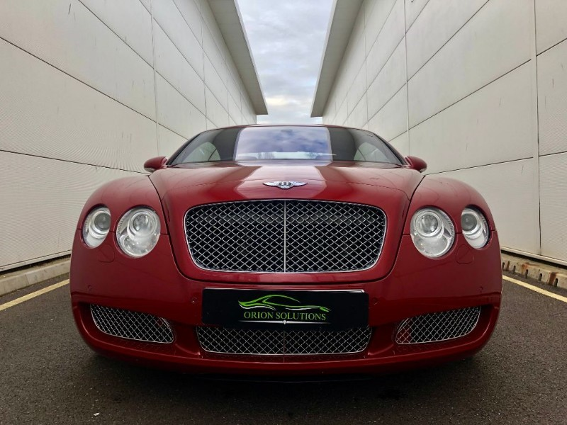 Used Umbrian Red Pearl Met Bentley Continental Gt For Sale South