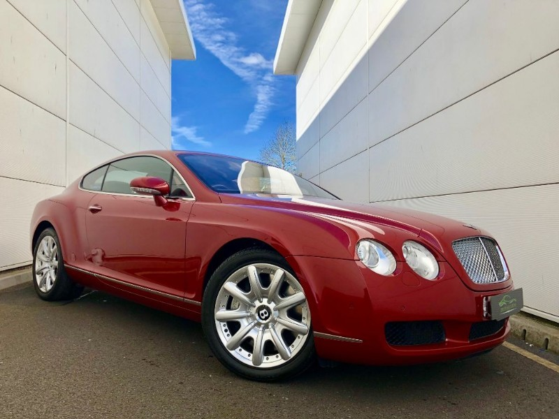 used Bentley Continental GT OUTSTANDING ,LOW MILES,LOW OWNERS,BEST COLOUR COMB,HISTORY in cardiff-glamorgan
