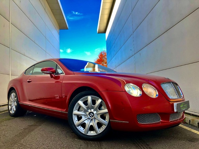 used Bentley Continental GT BEST COLOUR,LOW MILES,HI SPEC chrome pak in cardiff-glamorgan
